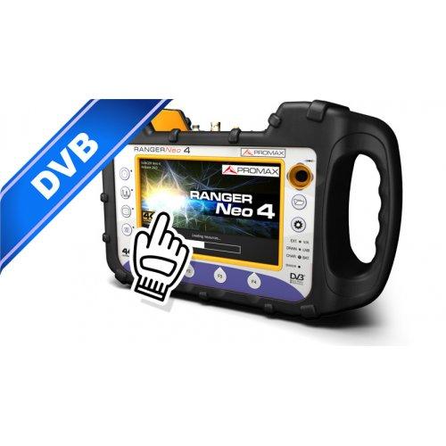 Πεδιόμετρο & αναλυτής φάσματος 4K-UHD PROMAX HD RANGER Neo 4