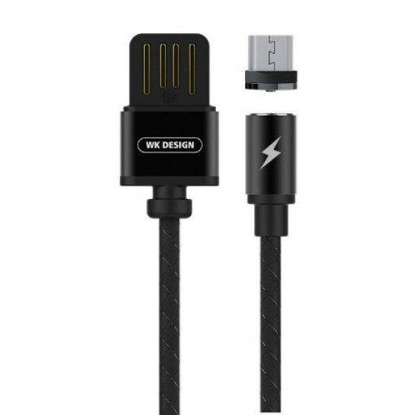 Καλώδιο φόρτισης USB A -> lightning μαγνητικό 1m 1A μαύρο WDC-046 WK