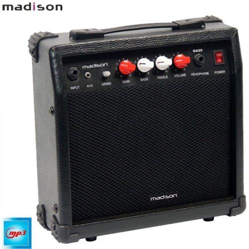 Ενισχυτής ηλεκτρικής κιθάρας 20W MADISON-GA20-BL