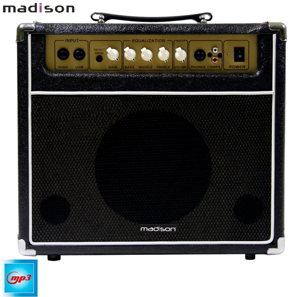 Ενισχυτής ηλεκτρικής κιθάρας 40W MADISON-GA40-BL