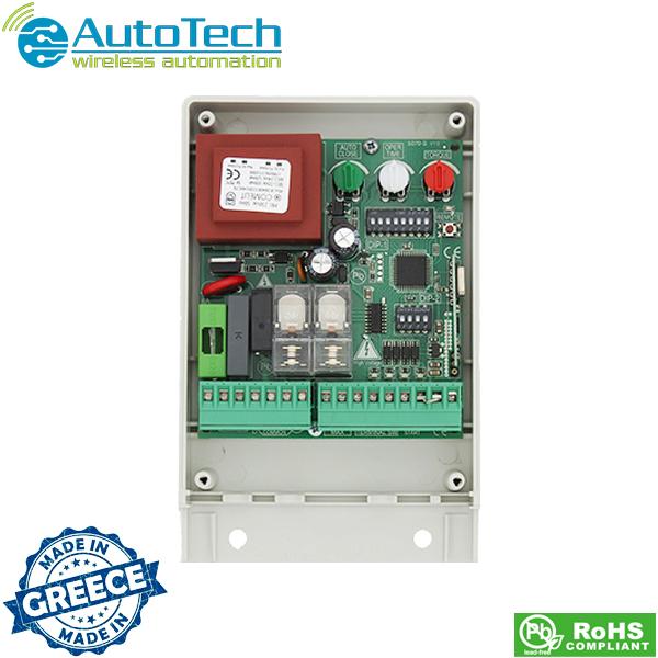 Πλακέτα τηλεχειρισμού συρόμενης γκαραζόπορτας 433,92 Mhz 5070-S Autotech