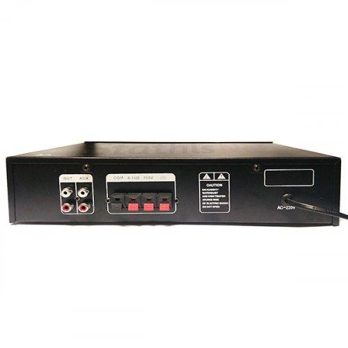 Ενισχυτής μικροφωνικός 40W 100V USB/FM/Bluetooth SM-2040U MEGA-SOUND