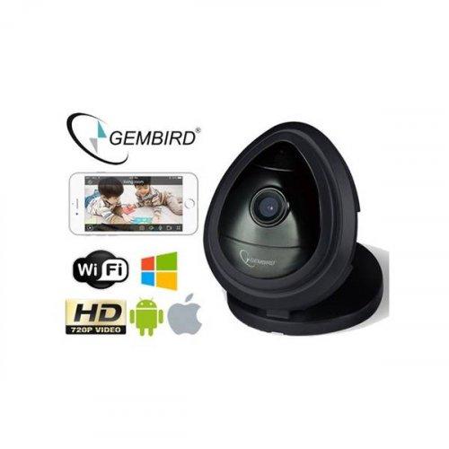 Κάμερα Mini ασύρματη 3.6mm 1/4 CMOS μαύρη ICAM-WHD-01 GEMBIRD