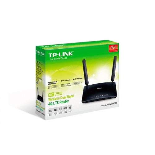 Modem Router Ασύρματο Dual Band 4G LTE Archer MR200 (Archer MR200) TP-LINK