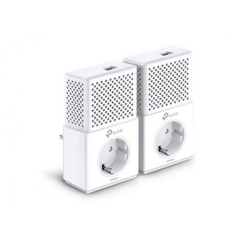 Powerline AV1000 Gigabit Passthrough Starter Kit TL-PA7010P TP-LINK