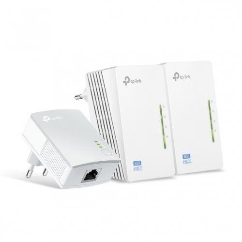 Powerline AV500 Universal +WiFi Range Extender 2xΘύρες Ethernet Κιτ δικτύου WPA4220T TP-LINK