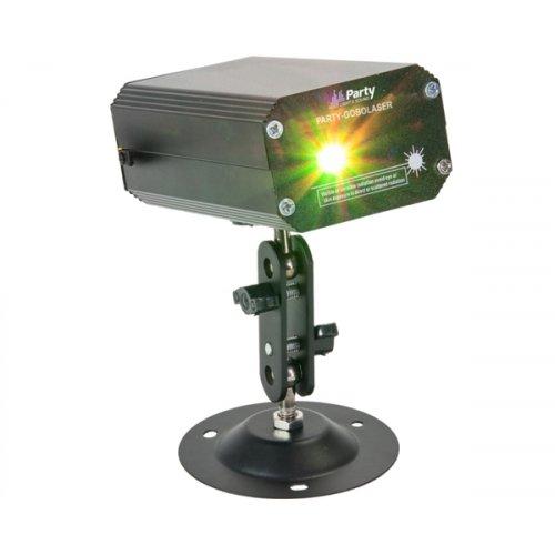 Laser εφέ Firefly πράσινο & κόκκινο χρώμα PARTY-GOBOLASER