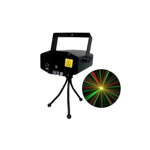 Laser εφέ Firefly ημιαυτόματο πράσινο & κόκκινο χρώμα SP-LASER20