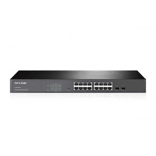Switch 16-Port Gigabit Smart with 2 Combo SFP Slots TL-SG2216 TP-LINK