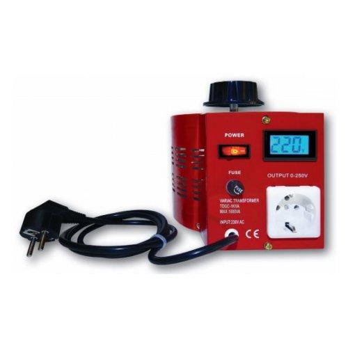 Μετασχηματιστής Μεταβλητός variac 0-230VAC 1000VA