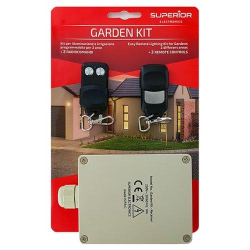 Πομποδέκτης 2 καναλιών 433.92 ΜΗz 230V Garden Kit Superior