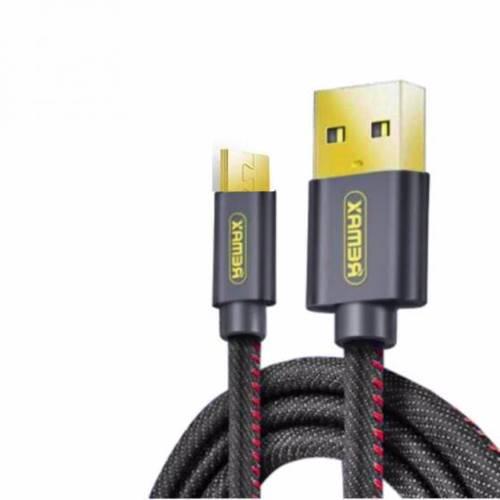 Καλώδιο φόρτισης & συχρονισμού USB-A -> Type-C 1.2m full speed Mαύρο Cowboy RC-096a Remax