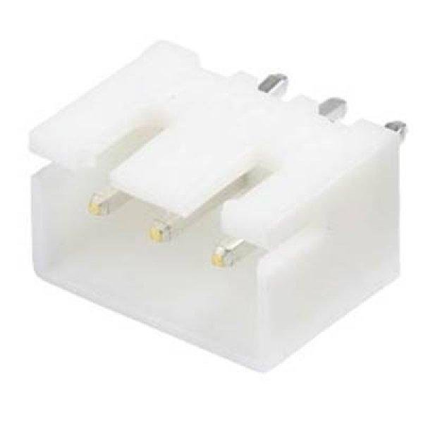 Pin header Pcb straight 1x3 pin pitch 2.5mm XH 3P ST Jst