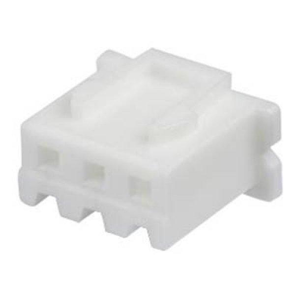 Socket housing crimp straight for Pin header crimp 1x3 pin pitch 2.5mm XH 3P BU Jst