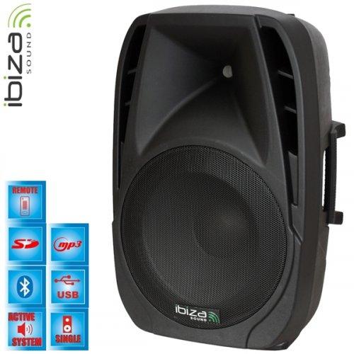 """Φορητό Σύστημα Ηχου Bluetooth 2 Δρόμων 12"""" 225W RMS BT12A Ibiza Sound"""