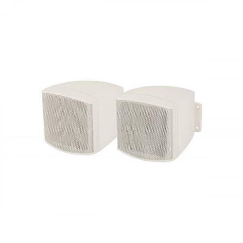 Ηχείο 1 Δρόμου 6W/100V-15W/8Ω, 2'' +0,5''TW 88dB C25V-W indoor Άσπρο Adastra