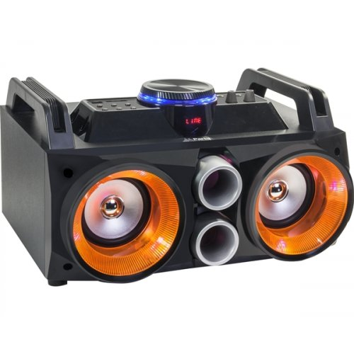 Αυτόνομο ηχοσύστημα 200W Party Sound Box με 2xMIC/Bluetooth/USB/SD/FM PARTY-SPEAKY200 Party Light & Sound