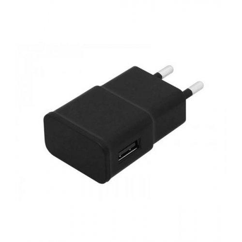 Τροφοδοτικό 230V in-> 1 x USB out 5V 2.1A μαύρο V2.0 75-814# Blow