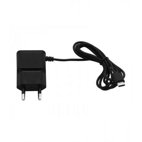 Τροφοδοτικό 230V in-> 1 x USB out 5V 2.1A + καλώδιο USB type C μαύρο V2.0 75-888# Blow