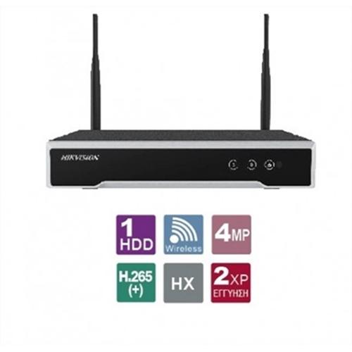 NVR 8 IP καναλιών DS-7108NI-K1/W/M Hikvision
