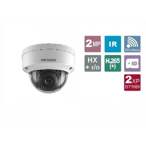 Κάμερα Dome 2.8mm Easy IP 2MP IP66 DS-2CD2121G0-IWS Hikvision