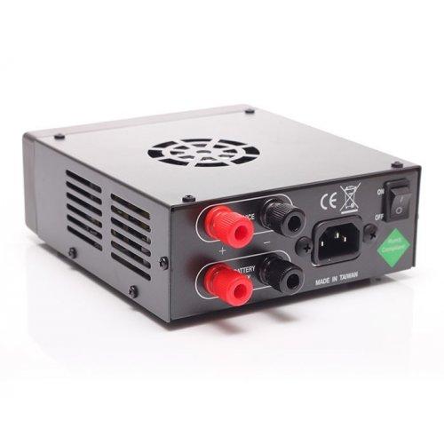 Τροφοδοτικό 230V->13,8V DC 20A switching πάγκου με φορτιστή AV-825-BC Telecom