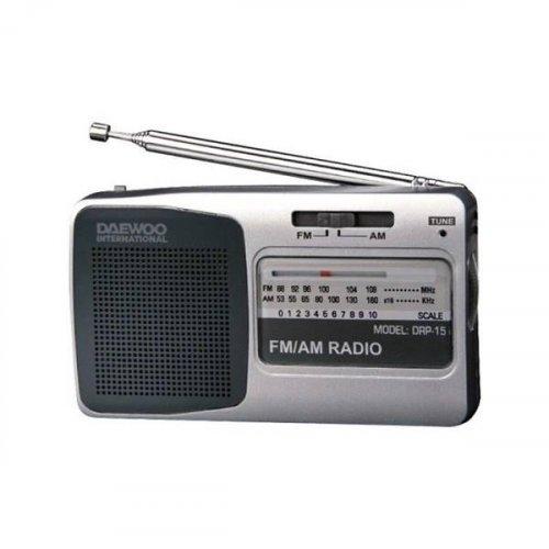 Ραδιόφωνο φορητό AM FM DRP-15 Daewoo