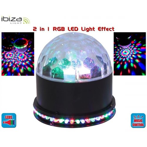 Φωτιστικό RGB Led 2 σε 1 UFO-ASTRO-BL Ibiza Light