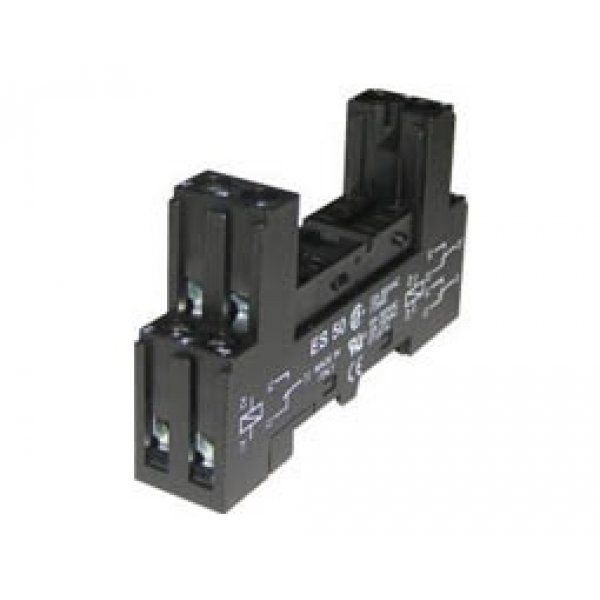 Βάση ράγας mini relay 2 pins ES 50 ERSCE