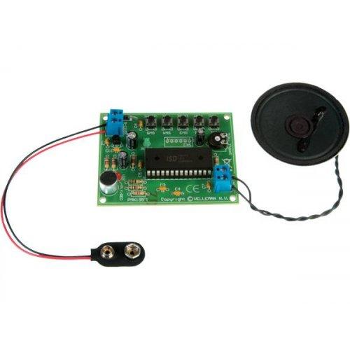 Ψηφιακή μαγνητοφώνηση και αναπαραγωγή μηνύματος κιτ κατασκευής MK195 Velleman