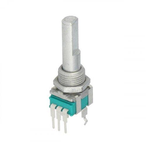 Ποτενσιόμετρο γραμμικό μονό Flat 25mm 5kOhms RK09L1140A65 ALPS