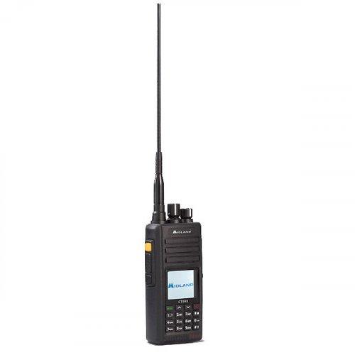 Πομποδέκτης Φορητός Αδιάβροχος VHF/UHF 10 Watt CT 990 MIDLAND