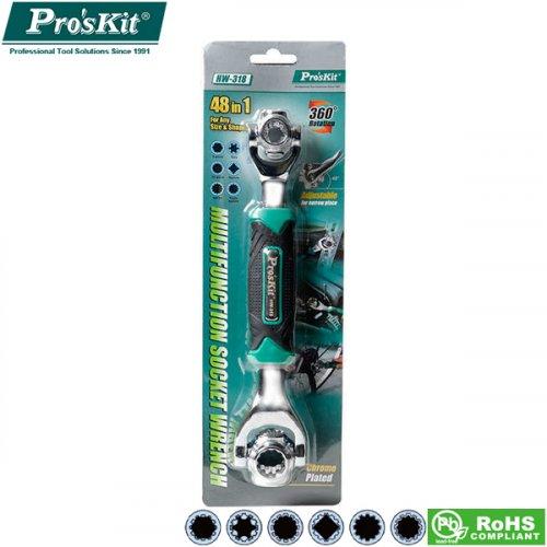 Εργαλείο κλειδί πολυμορφικό 48 σε 1 HW-0318 Proskit
