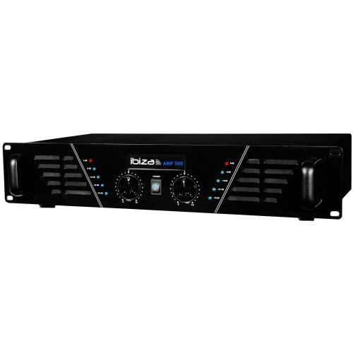 Ενισχυτής ήχου τελικός PA 2 x 240W AMP300 Ibiza Sound