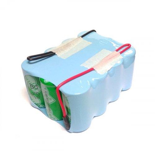 Μπαταρία pack 12 pcs x 1.2V SUB-C 14.4V 1600mAh Ni-cd με καλώδιο Code W Fujitron