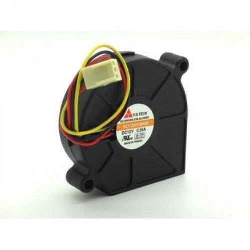 Ανεμιστήρας 12VDC 60x60χ18mm 3Wire 3Pin BD126018HB Y.S.TECH