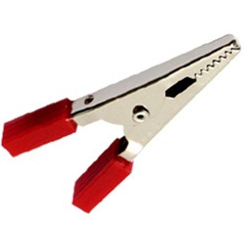 Κροκοδειλάκι μεσαίο 3Α 48mm AT-0005 κόκκινο KRODE