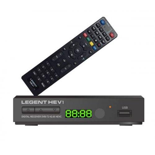 Δέκτης MPEG 4 DVB-T DVB-T2 H265 επίγειος ψηφιακός HEV1 LEGENT