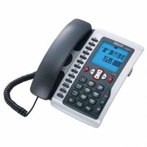 Τηλέφωνο επιτραπέζιο GCE 6097W μαύρο TELCO