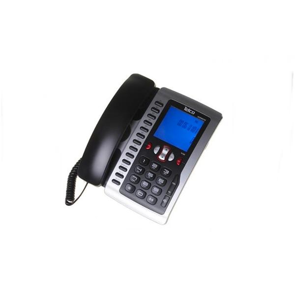 Τηλέφωνο ενσύρματο με οθόνη μαύρο GCE 6097W Telco