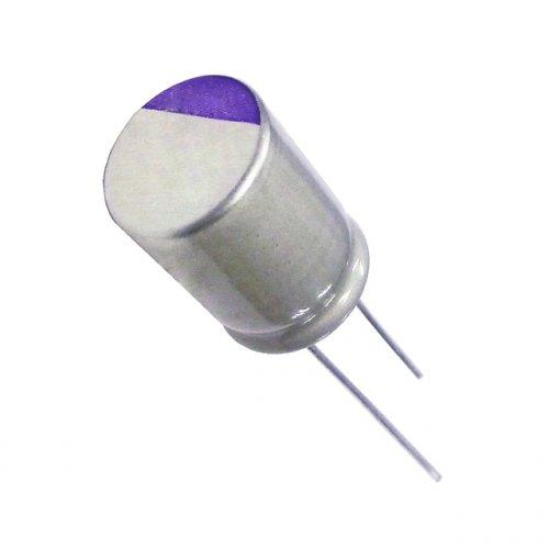 Πυκνωτής ηλεκτρολυτικός mini 16V 180μf 125*c 8.0x12.0mm 16SEQP180M Panasonic