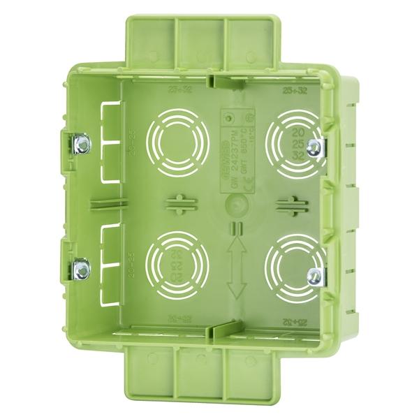 Κουτί πλαστικό 131x129x53mm GW24237PM GEWISS