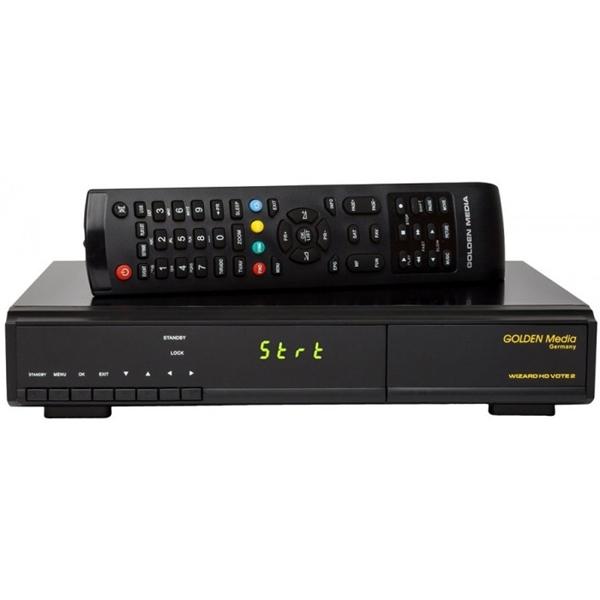 Δορυφορικός και επίγειος δέκτης Wizard Vote 2 HD combo Golden Media