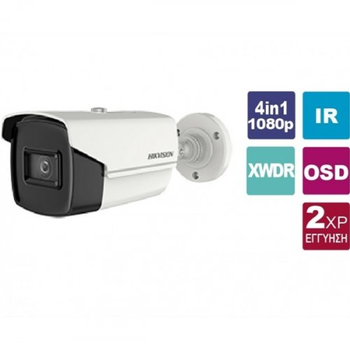 Κάμερα Bullet 2.8mm IP67 Turbo-HD 2MP DS-2CE16D3T-IT3F Hikvision