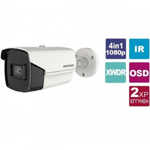 Κάμερα Bullet  3.6mm IP67 Turbo-HD 2MP DS-2CE16D3T-IT3F Hikvision