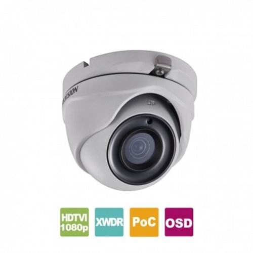 Κάμερα Dome IR 2.8mm IP67 Turbo-HD 1080p Γκρί DS-2CE56D8T-ITMF Hikvision
