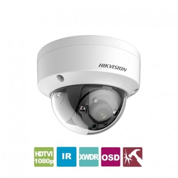 Κάμερα Dome IR 2.8mm IP67 Turbo-HD 1080p DS-2CE56D8T-VPITF Hikvision