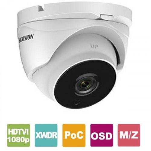 Κάμερα Dome IR 2.8~12mm IP67 Turbo-HD 1080p Γκρί DS-2CE56D8T-IT3ZE Hikvision