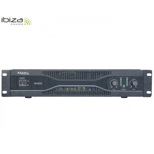 Ενισχυτής ήχου τελικός PA 2x250W SA500 Ibiza Sound