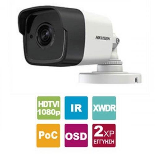 Κάμερα Bullet 3.6mm IP67 Turbo-HD 2MP DS-2CE16D8T-ITF Hikvision